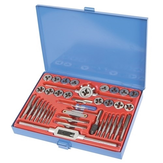 Picture of Tap & Die Set 40 Piece Metric