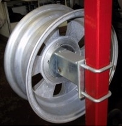 Picture of SPARE WHEELS BRACKET GALVANISE