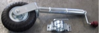 Picture of FLAT free JOCKEY WHEEL & CLAMP