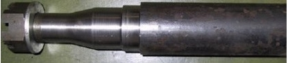 """Picture of STUB AXLE 12"""" 305mm : 56MM RD 2T/PR"""