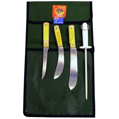 Picture of AOS Green River Butcher Knife Package