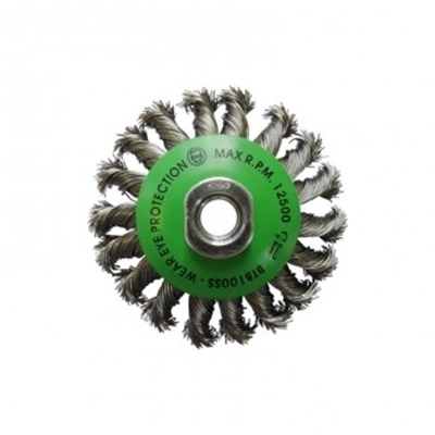 Picture of Brumby 100mm Twistknot Stainless Steel Bevel Brush MT