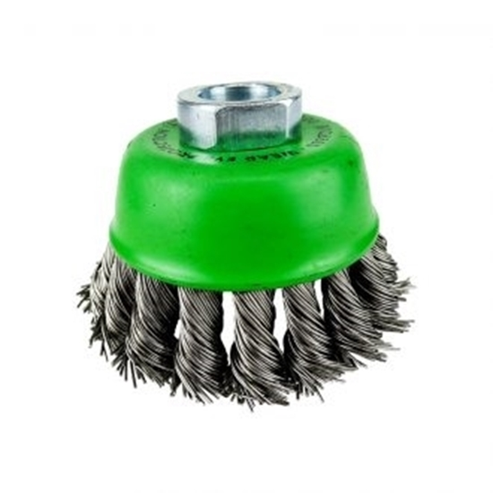 Picture of Brumby 75mm Stainless Steel Twistknot Cup Brush